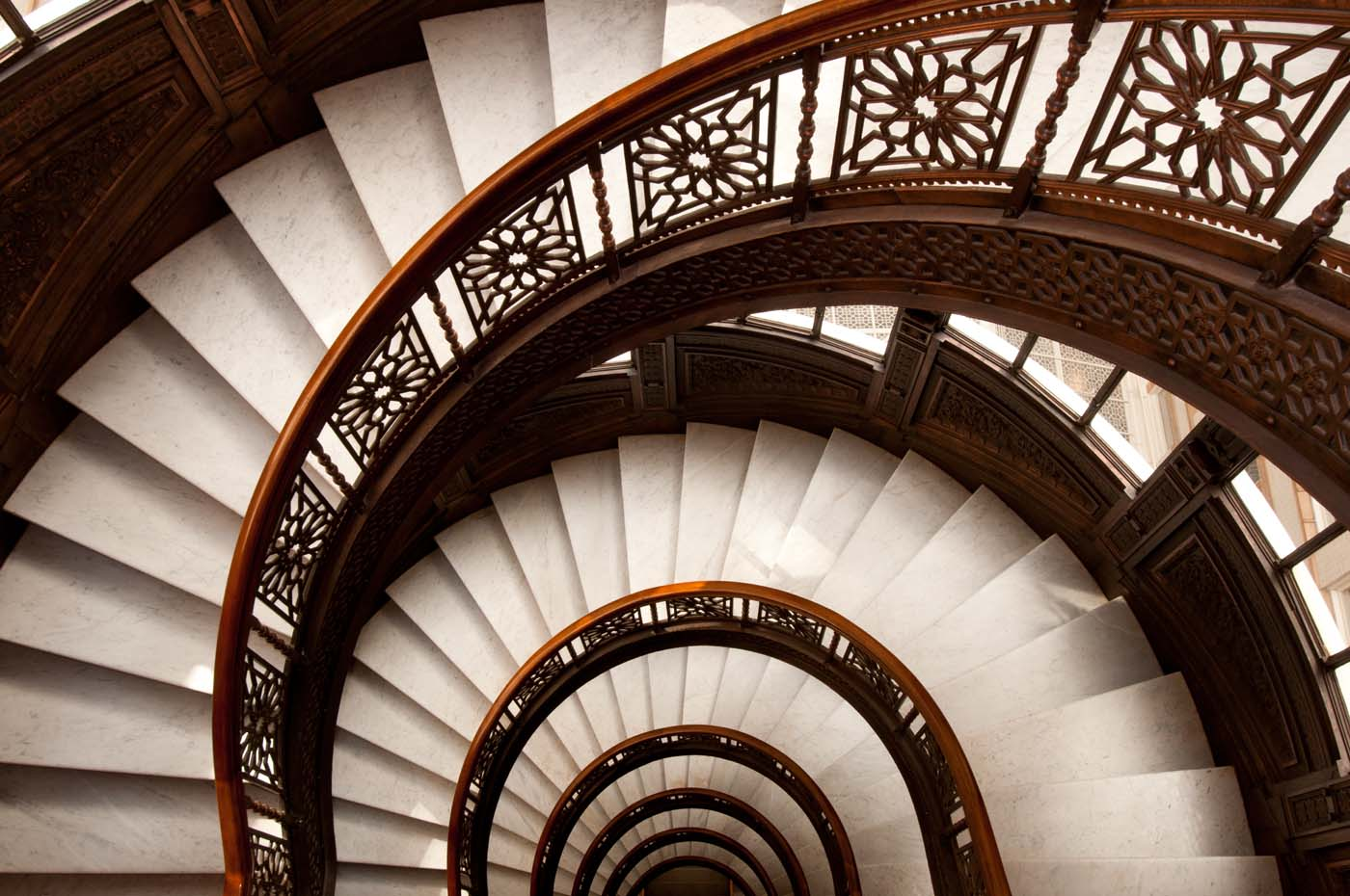 Rookery Building Staircase